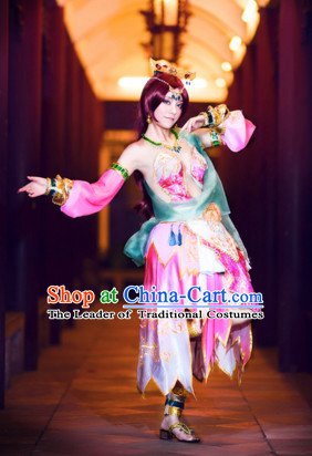 China Cosplay Fairy Costumes Halloween Costume