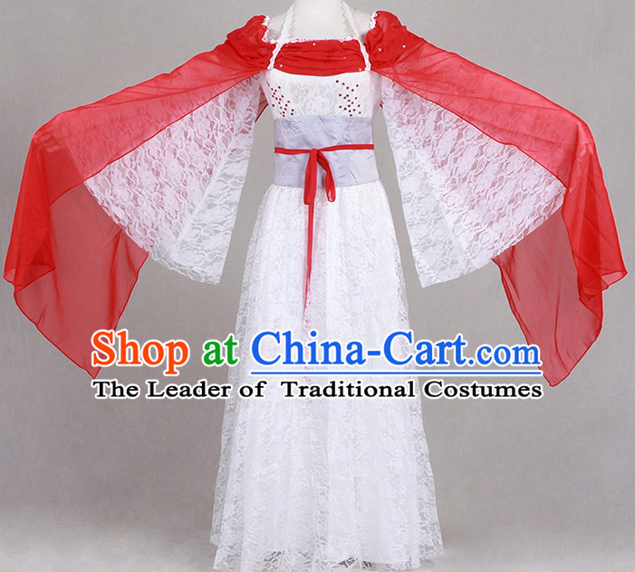 Chinese TV Drama Beauty Costume Ancient Theatrical Costumes Historical Clothing and Hair Jewelry Complete Set for Women
