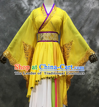 Chinese Ancient Classical Dance Costumes for Women or Girls