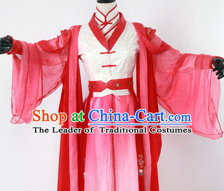 Ancient Chinese Stage Palace Dress National Costume Halloween Costumes Hanfu Chinese Dresses Chinese Clothing