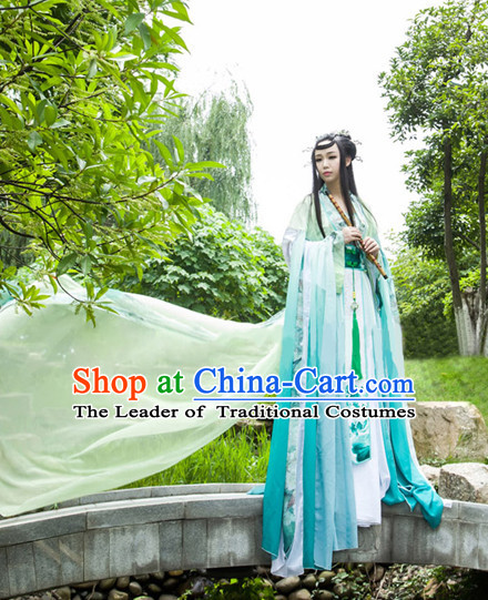 Ancient Chinese Stage Fairy Dress National Costume Halloween Costumes Hanfu Chinese Dresses Chinese Clothing