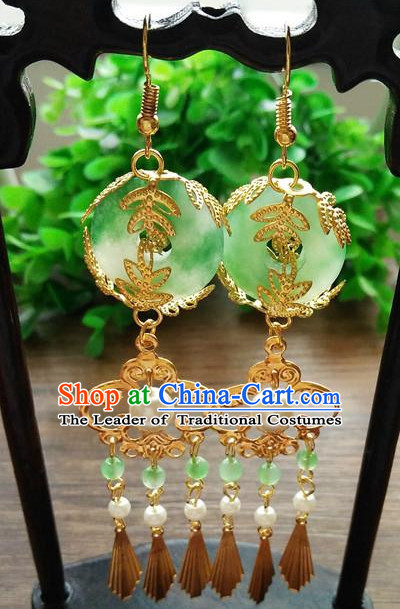 Chinese Traditional Princess Hanfu Earrings