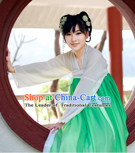 Asian Traditional High Quality Tang Fairy Princess Goddness Clothes Costume Costumes Complete Set for Women Girls Children Adults