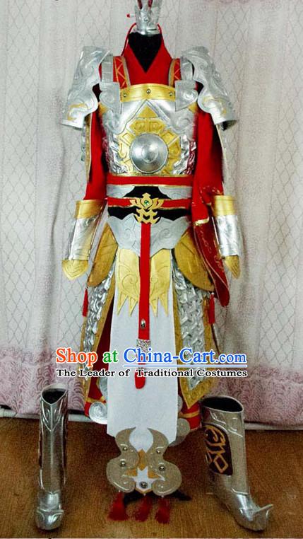 China High Quality Superhero Armor Costume Cosplay Taoist Archer Costume Avatar Costumes Wonderflex Knight Armorsuit Leather Metal Fantasy Armoury Complete Set