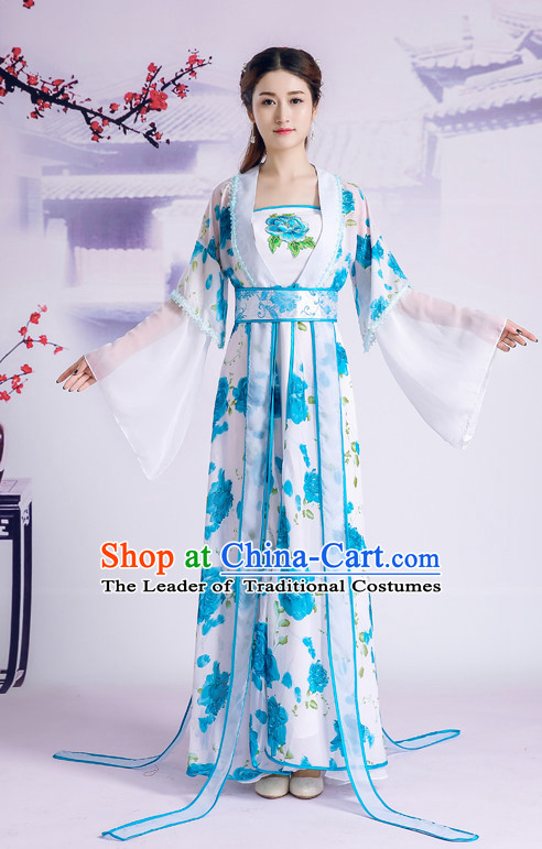 Traditional Chinese Hanfu Women Clothes CLassical Dress Complete Set