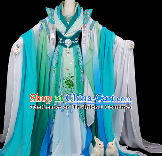 Ancient Chinese Princess Empress Queen Dresses Hanzhuang Han Fu Han Clothing Traditional Chinese Dress Hanfu National Costume Complete Set for Women or Girls