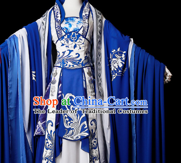 Hanzhuang Han Fu Han Clothing Traditional Chinese Dress Hanfu National Costume Complete Set for Adults or Kids