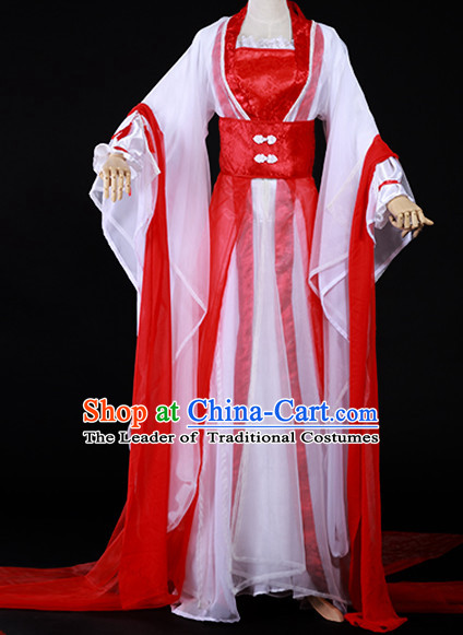 Ancient Chinese Style Halloween Costumes Costume Complete Set for Women