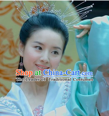 Handmade Chinese Zhu Yingtai Beauty Hair Decorations Headpieces for Women