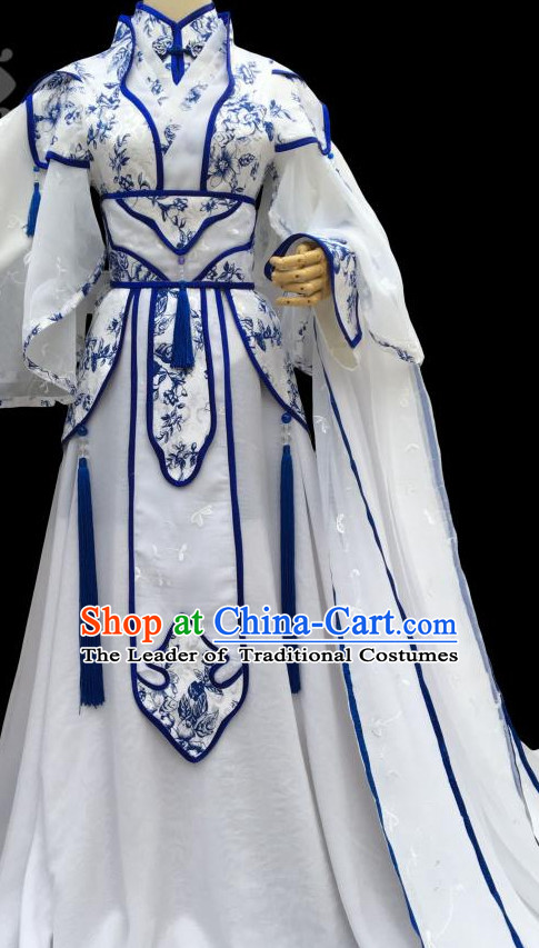 Chinese Classical Princess Costumes Complete Set