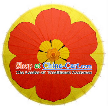 Asian Flower Dance Umbrella Chinese Handmade Umbrellas Stage Performance Umbrella Dance Props