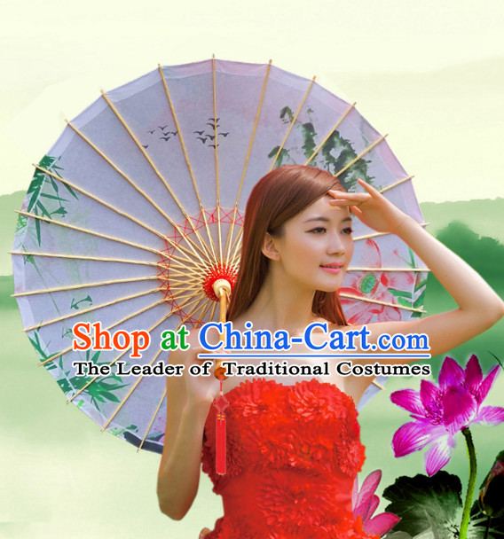 Asian Dance Umbrella Chinese Handmade Umbrellas Stage Performance Umbrella Dance Props for Kids