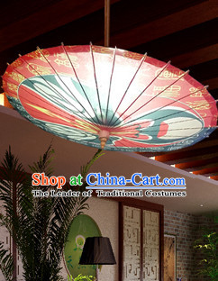 Asian Dance Umbrella China Handmade Opera Masks Umbrellas Stage Performance Umbrella Dance Props