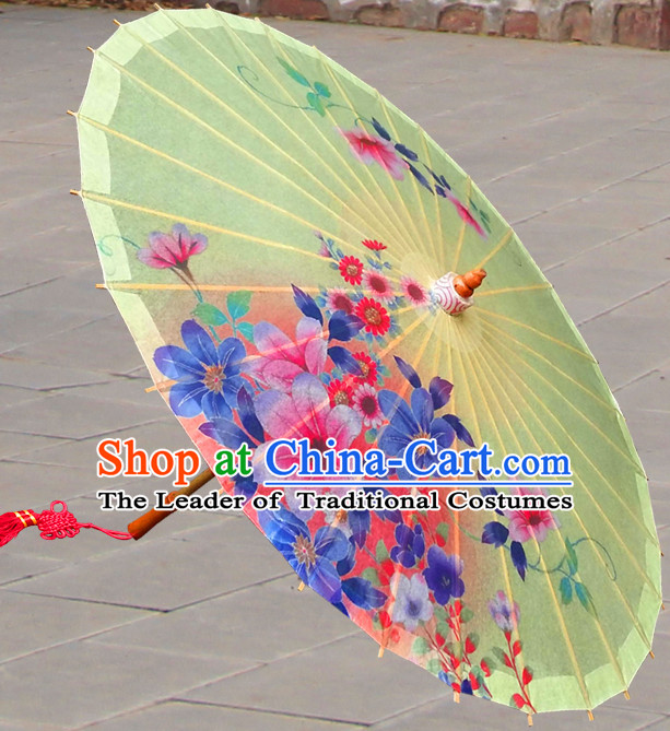 Asian Dance Umbrella Chinese Handmade Umbrellas Stage Performance Umbrella Dance Props