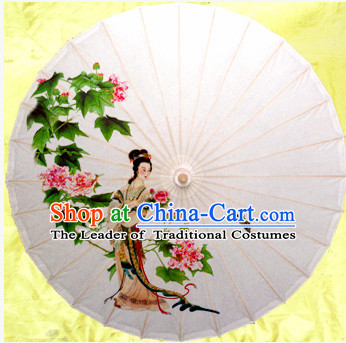Asian Dance Umbrella China Handmade Traditional Umbrellas Stage Performance Umbrella Dance Props