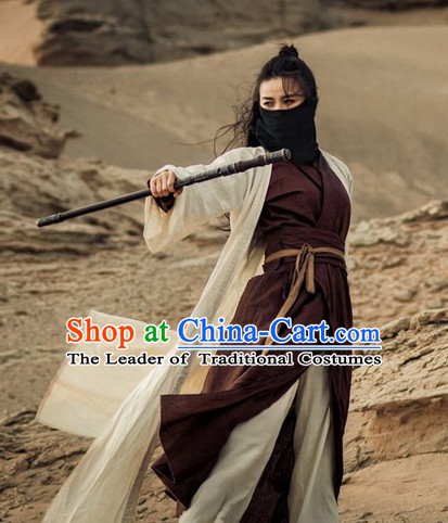 Ancient Chinese Sword Woman Costumes Flower Costume Traditional Chinese Fairy Hanfu Han Fu Costumes Ancient Cosplay Complete Set