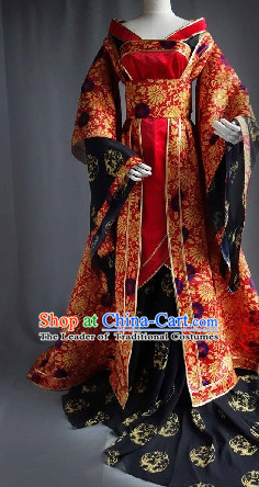Ancient Chinese Imperial Dresses Traditional Chinese Hanfu Complete Set