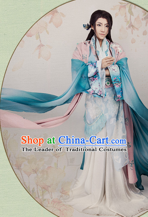 Chinese Hanfu Robe Prince Clothing Handmade Bjd Dress Opera Costume Drama Costumes Complete Set