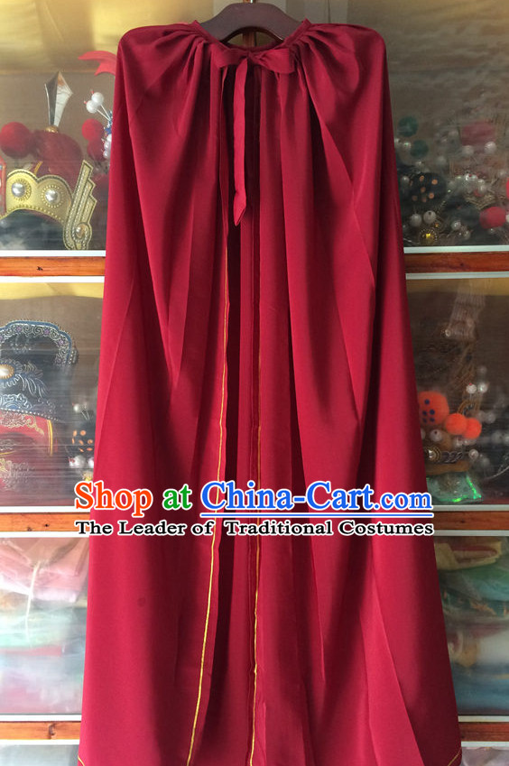 China Beijing Opera General Mantle Hero Cape Robe Stage Costumes