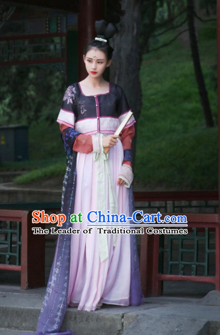 Chinese dress clothes skirt shirt pant wings evening dress water armor cloth scarf red hanfu red dress gown costumes