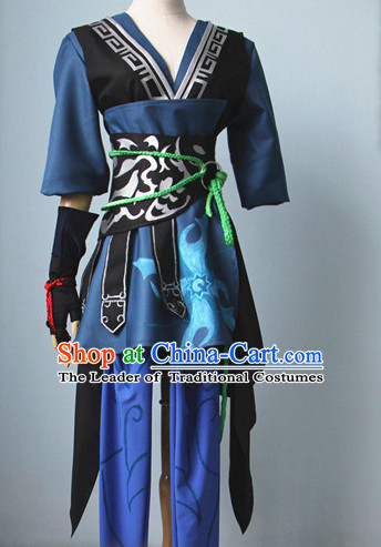 Chinese Women Hanbok Kimono Stage Opera Costume Dresses Costume Ancient Cosplay Complete Set