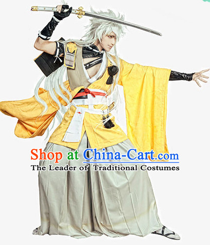 Special Ancient Chinese Assassin Costumes Samurai  Costume Dresses Complete Set