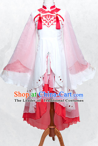 Special Chinese Classic Costumes Female Costume Dresses Complete Set