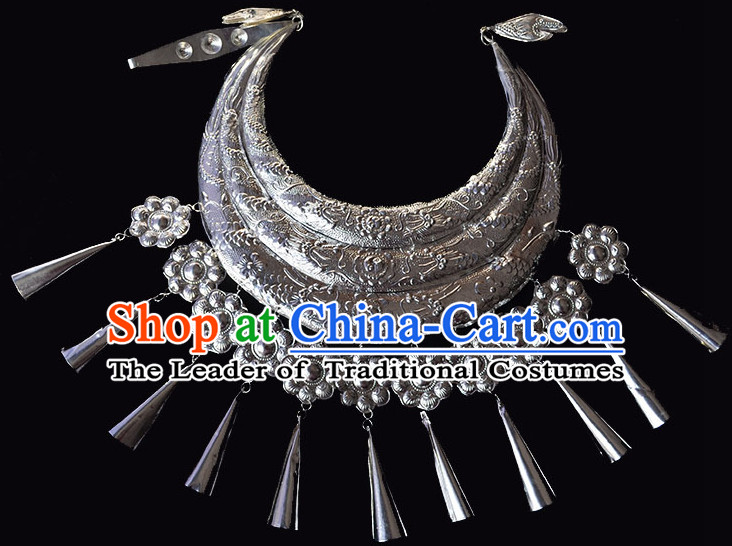 Chinese Miao Silver Necklace