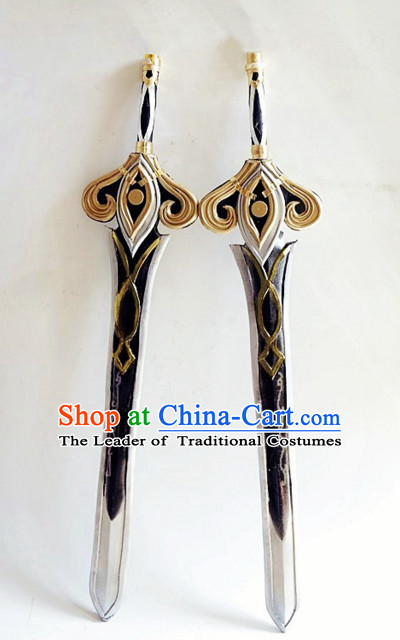 Chinese Handmade Fake Sword Stage Performance Props