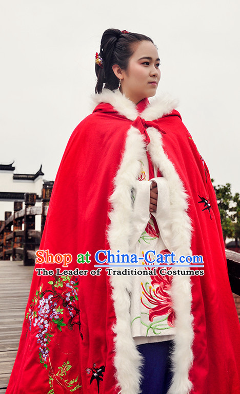 Ancient Chinese Princess Wedding Dresses Traditional Royal Stage Hanfu Classical Dress National Costumes Clothing and Hair Jewelry Complete Set