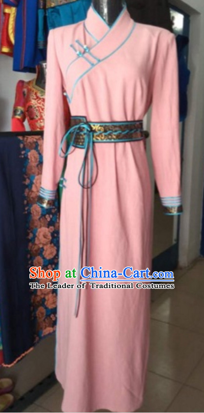 Chinese Mongolian Minority Mongol Women Dress Mongolia Minority Dresses Ethnic Mongolian Costume Complete Set