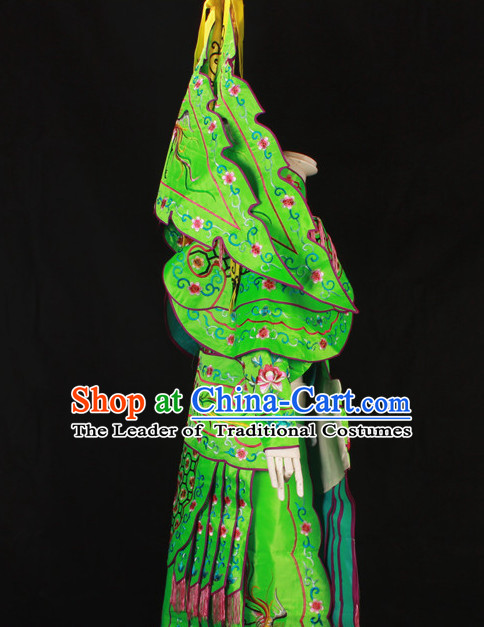 China Beijing Opera Chinese Peking Opera Costume Embroidered Robe Hua Military General Dan Opera Costumes Complete Set