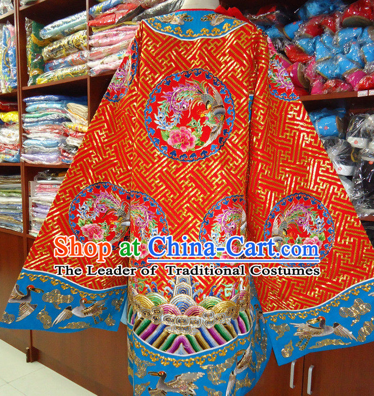 Opera Mask Bian Lian Opera Costume veil ethnic competition sexy silk fan parasol Chinese dancing costume banners
