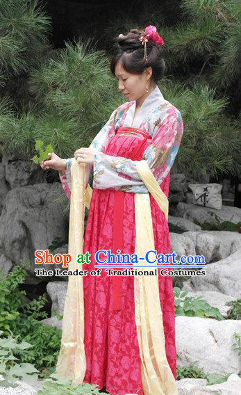 Classical Dance Chinese Clothes Drama Performance Hanfu for Women