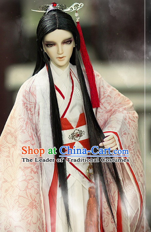 Ancient Chinese Prince Men Costumes Clothing Traditional Costumes Hanfu Complete Set