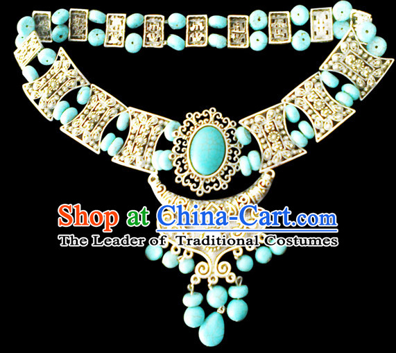 Traditional Chinese Mongolian Empress Necklace