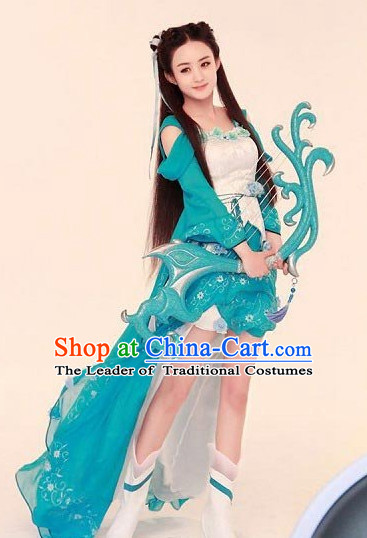 Traditional Chinese Ancient Clothing Han Fu Dresses Beijing Classical China Cosplay Clothing for Women