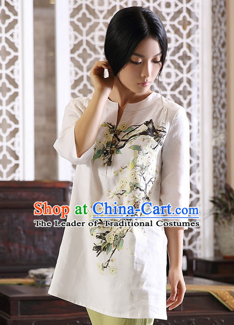 Top Chinese Classical Traditional Blouse for Ladies