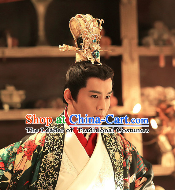Ancient Chinese Prince Coronet Crown