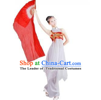 Traditional Chinese Yangge, Fan Dancing Wholesale Costume, Folk Dance Yangko Costume Dancewear for Women