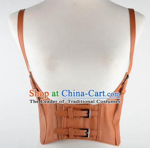Traditional Classic Women Clothing, Traditional Classic Waist, British Restoring Ancient Gothic Wide Waist Belt Vest for Women