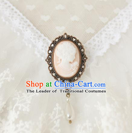 Traditional Classic Women Jewelry Accessories, Traditional Classic Gothic Restoring Ancient Brooch for Women