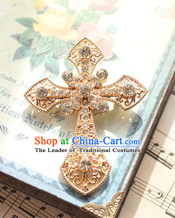 Traditional Classic Women Jewelry Accessories, Traditional Classic Gothic Restoring Ancient Crystal Brooch for Women