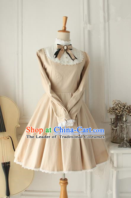 Traditional Classic Elegant Women Costume Palace One-Piece Dress, Restoring Ancient Princess Royal Dress for Women