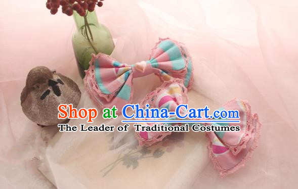 Traditional Classic Ancient Hair Accessories Hair Pin, Elegant Sweet Bowknot Hair Claw for Women