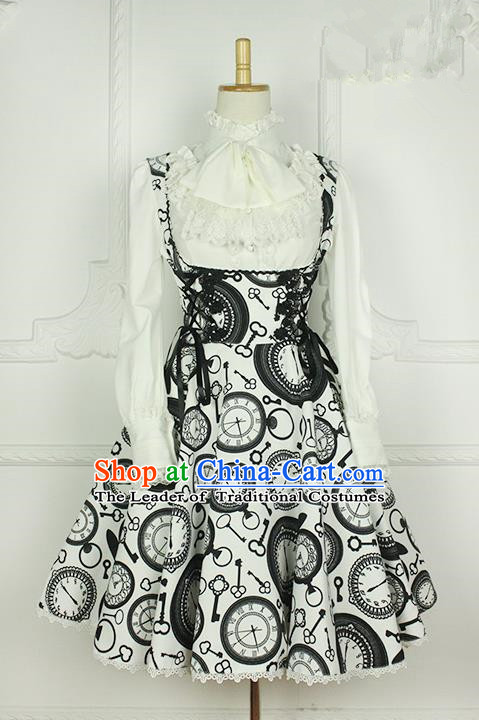 Traditional Classic Elegant Women Costume One-Piece Dress, Restoring Ancient Princess Joe Chest Jumper Skirt for Women