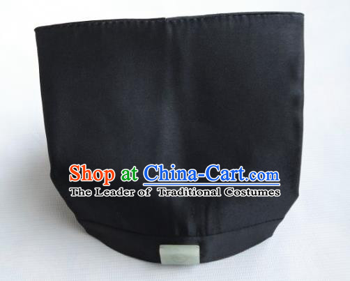 Traditional Chinese Wudang Taoist Supplies Hair Hats Tai Chi Headwear for Men