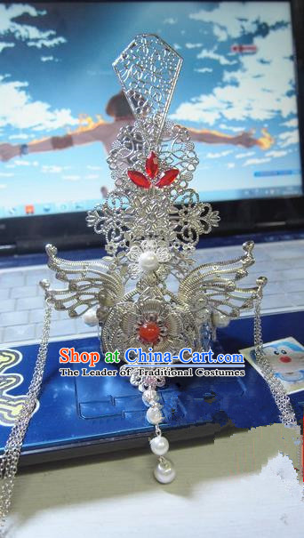 Traditional Chinese Ancient Jewelry Accessories, Ancient Chinese Imperial Princess Wedding Hair Phoenix Coronet, China Wedding Bride Hairpin  for Women
