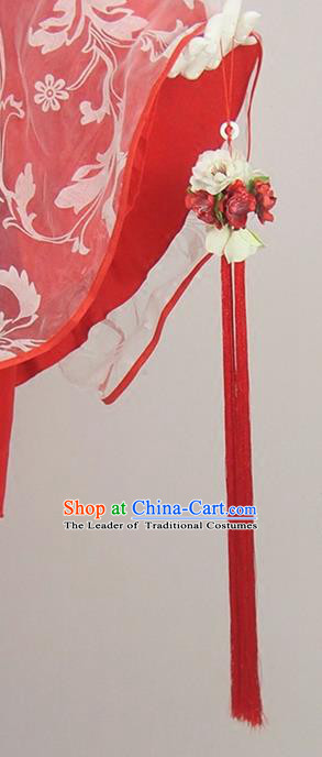 Traditional Chinese Ancient Jewelry Accessories, Ancient Chinese Imperial Princess Tassel Waist Accessories Fan Fall for Women