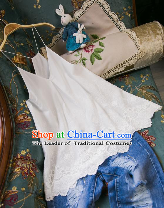 Traditional Classic Women Costumes, Traditional Classic Cotton Sun-Top Female Camisole